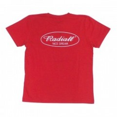 "RADIALL ポケットTシャツ ""CYCLE NUTS TEE"" (Red)"