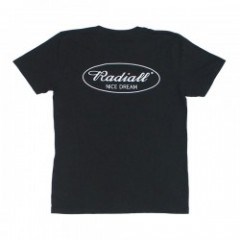 "RADIALL ポケットTシャツ ""CYCLE NUTS TEE"" (Black)"
