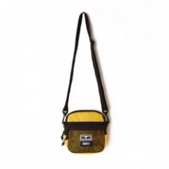 "OBEY ミニショルダーバッグ ""CONDITIONS TRAVELER BAG"" (Energy Yellow)"