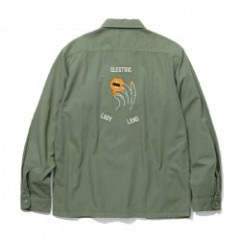 "RADIALL ""WET DREAM R.C. SHIRT L/S"" (Olive Drab)"