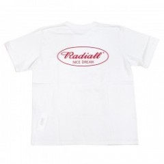 "RADIALL Tシャツ ""OVAL CREW NECK POCKET TEE"" (White)"