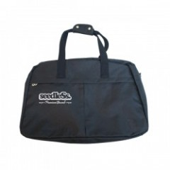 "seedleSs ボストンバッグ ""SD BOSTON BAG"" (Black)"