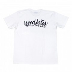"seedleSs Tシャツ ""STASH POCKET! TEE"" (White)"