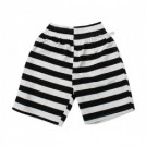 "COOKMAN ショーツ ""CHEF SHORT PANTS"" (Border / Black)"