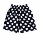 "COOKMAN ショーツ ""CHEF SHORT PANTS"" (Big Dots / Black)"