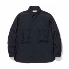 "RADIALL L/Sシャツ ""YOSEMITE REGULAR COLLARED SHIRT L/S"" (Black)"
