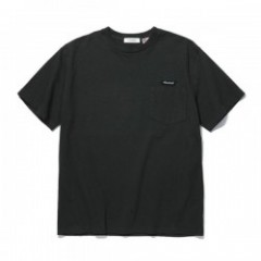 "RADIALL Tシャツ ""FLAGS CREW NECK POCKET T-SHIRT S/S"" (Black)"