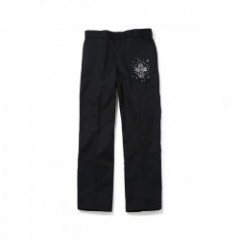 "ANIMALIA ""ANGLER PANTS 17SU (Dickies body)"" Black"