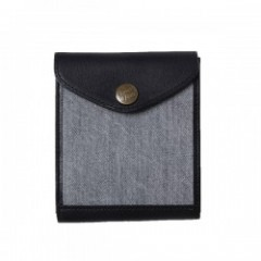 "RADIALL 財布 ""HUNTINGTON WALLET"" (Black)"