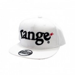 "range キャップ ""RANGE ORIGINAL SNAP BACK CAP"" (White)"