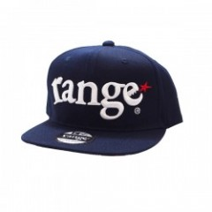 "range キャップ ""RANGE ORIGINAL SNAP BACK CAP"" (Navy)"