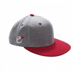 "range ""CHAMPION COTTON FABRIC SNAP BACK"" Gray/Red"