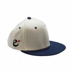 "range ""CHAMPION COTTON FABRIC SNAP BACK"" Ivory/Nav"