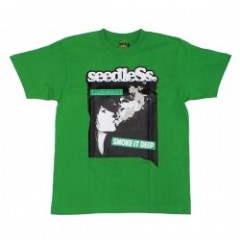 "seedleSs ""LIVE FAST SMOKE DEEP..... S/S TEE"" Green"