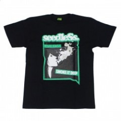 "seedleSs ""LIVE FAST SMOKE DEEP..... S/S TEE"" Black"