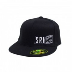 "SRH キャップ ""GARNET FITTED CAP"" (Black)"