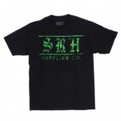 "SRH Tシャツ ""SUPPLIER CO TEE"" (Black)"