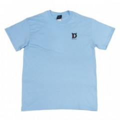 "Deviluse Tシャツ ""CRAZY PEPPERS EMBROIDER TEE"" L.Blue"