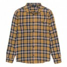 "POLeR L/Sシャツ ""ZERO FLANNEL SHIRT"" (Gold)"