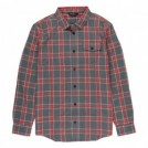 "POLeR L/Sシャツ ""ZERO FLANNEL SHIRT"" (Ash Gray)"