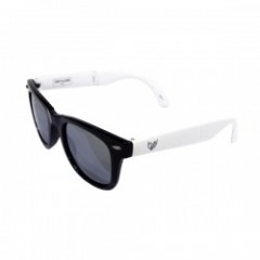 "Deviluse サングラス ""FOLDING SUNGLASS"" (White/Black)"