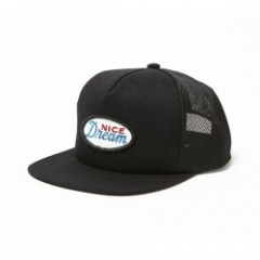 "RADIALL キャップ ""OVER THE TOP MESH CAP"" (Black)"