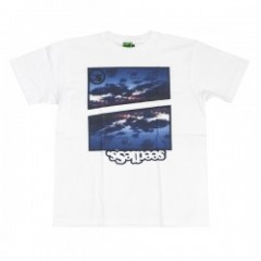 "seedleSs Tシャツ ""ISLAND OF GOD TEE"" (White)"