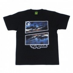 "seedleSs Tシャツ ""ISLAND OF GOD TEE"" (Black)"