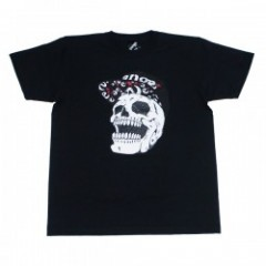 "range Tシャツ ""SNAP BACK SKULL TEE"" (Black)"