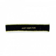 "JHF ヘッドバンド ""CAPITAL HEADBAND"" (Black/Gold)"