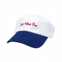 "JHF キャップ ""HAPPY PLACE DAD HAT"" (White/Navy)"