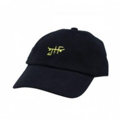"JHF キャップ ""CLASSIC SKATE DAD HAT"" (Black/Neon)"