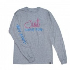 "JHF L/STシャツ ""ALWAYS LIT L/S TEE"" (Heather Gray)"