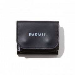 "RADIALL 財布 ""PLAIN TRIFOLD WALLET"" (Black)"