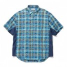 "★30%OFF★ RADIALL S/Sシャツ ""EL CAMINO REGULAR COLLARED SHIRT S/S"" (Turquoise Green)"
