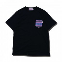 "ANIMALIA ポケットTシャツ ""POCKET MEJICO"" (Black)"