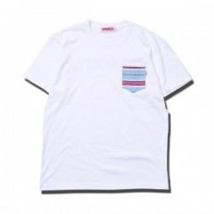 "ANIMALIA ポケットTシャツ ""POCKET MEJICO"" (White)"