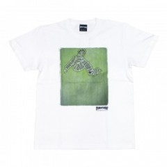 "THRASHER Tシャツ ""LANCE MOUNTAIN(GONZ) TEE"" (White)"