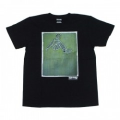"THRASHER Tシャツ ""LANCE MOUNTAIN(GONZ) TEE"" (Black)"