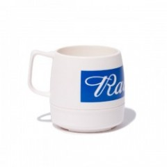 "RADIALL マグカップ ""FLAGS 8oz MUG CUP"" (White)"