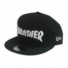"THRASHER ""MAG NEW ERA SNAPBACK CAP"" Black/White"