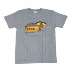 "★30%OFFRADIALL Tシャツ ""Ms.CUERVO TEE"" (Heather Gray)"