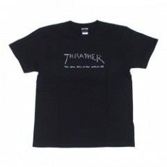 "THRASHER Tシャツ ""NEW RELIGION WORLDWIDE TEE"" (Black)"