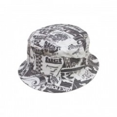 "★30%OFF★ FUCT ハット ""XEROX PATTERN HAT"" (Black)"