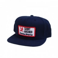 "SAINT ARCHER キャップ ""BREW PATCH SNAPBACK"" (Navy)"