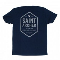 "★30%OFF★ SAINT ARCHER Tシャツ ""HEXAGON TEE"" (Navy)"