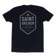 "SAINT ARCHER Tシャツ ""HEXAGON TEE"" (Black)"