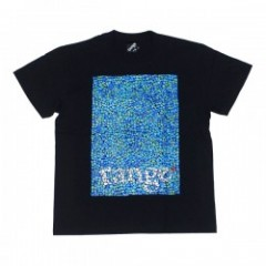 "★20%OFF★ range Tシャツ ""螺鈿~mother-of-pearl~ TEE"" (Black)"