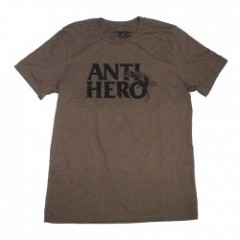 "ANTIHERO Tシャツ ""DOG HUMP TEE"" (Brown Heather)"