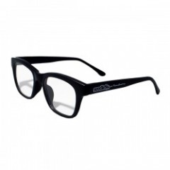 "seedleSs サングラス ""SQUARE FLAT SUNGLASSES"" Blk/Clear"